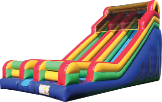 Dry Slides Inflatable Bounce House