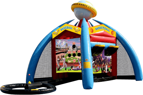 Interactive Games Inflatable Bounce House